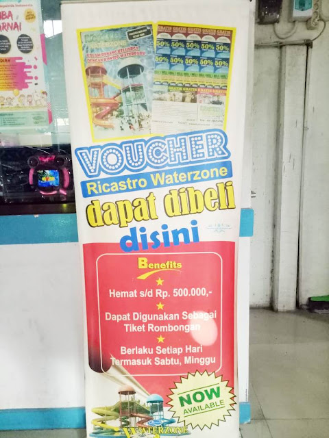 Promo Voucher - Ricastro Water Zone