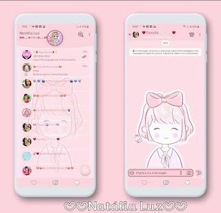 Boneca Kawaii Girl Theme For YOWhatsApp & Aero WhatsApp By Natalia Luz