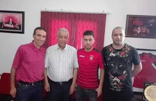طاهر بن خليفة ينظم الى اتحاد الجزائر