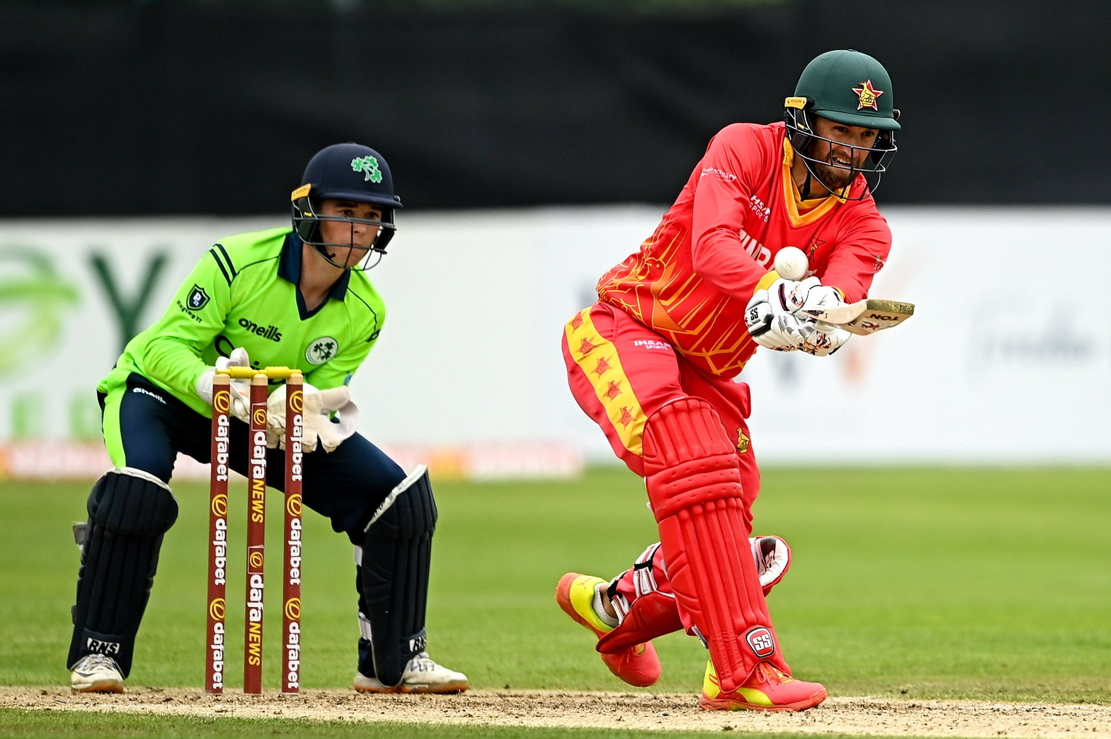 Zimbabwe Tour of Ireland Results and fixtures, AIDEN and Stirling