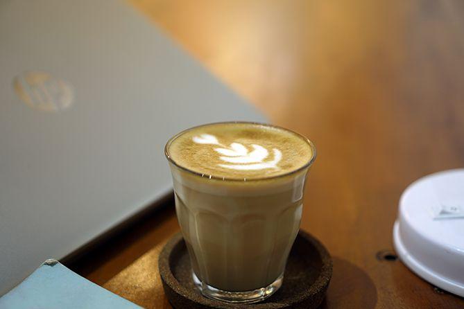 Menyesap Latte di Sebaya Kopi Jogja