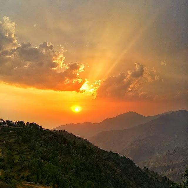 best sunrises in himalayas