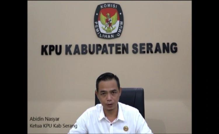 Putus Mata Rantai Covid-19, Ketua KPU Kabupaten Serang Ajak Masyarakat Taati Himbauan Pemerintah