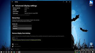 Change Refresh Rate Windows 10 Build 20236