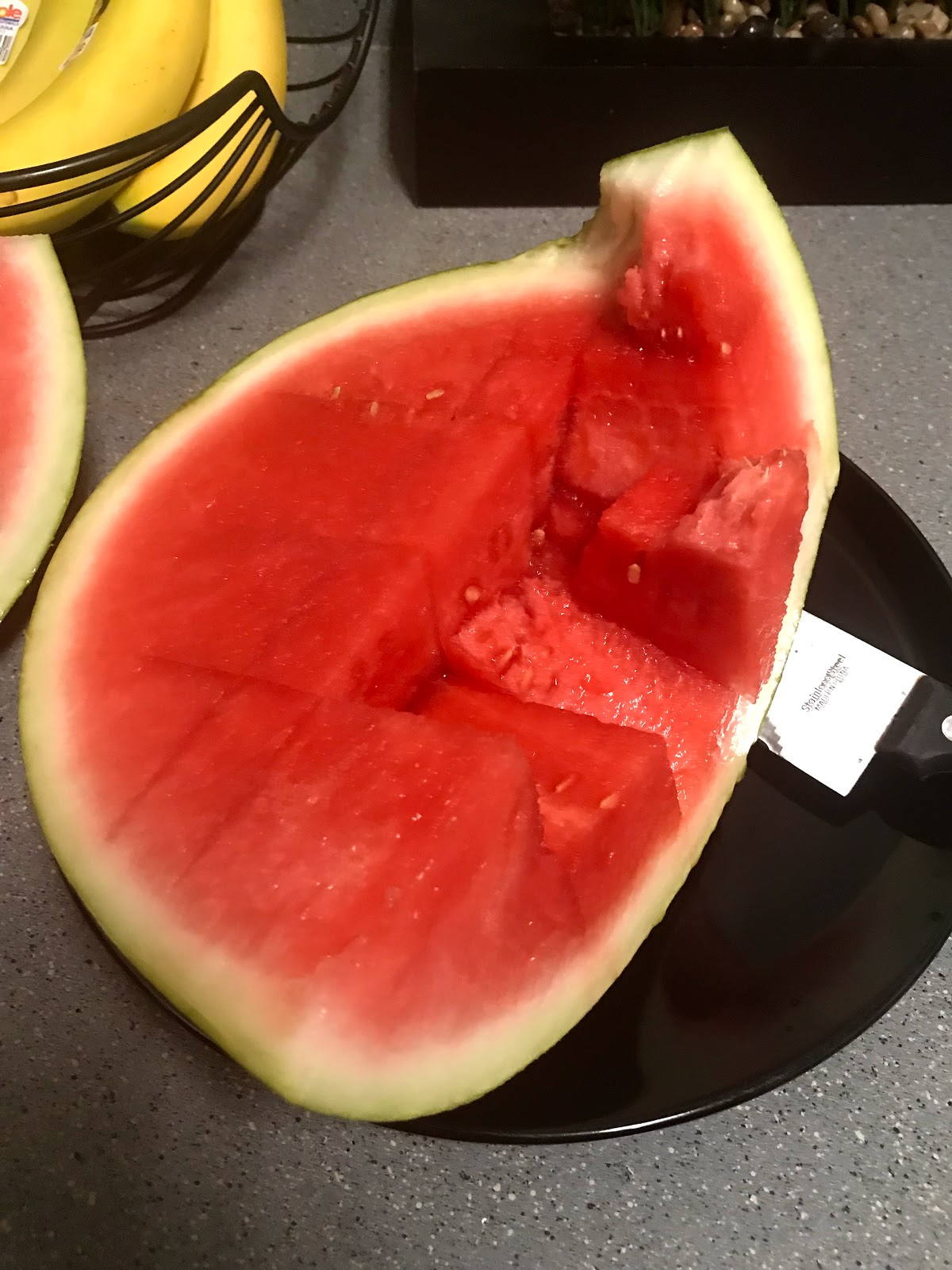 Image: Watermelon. Eating healthy and documenting it for others on bits and babbles blog