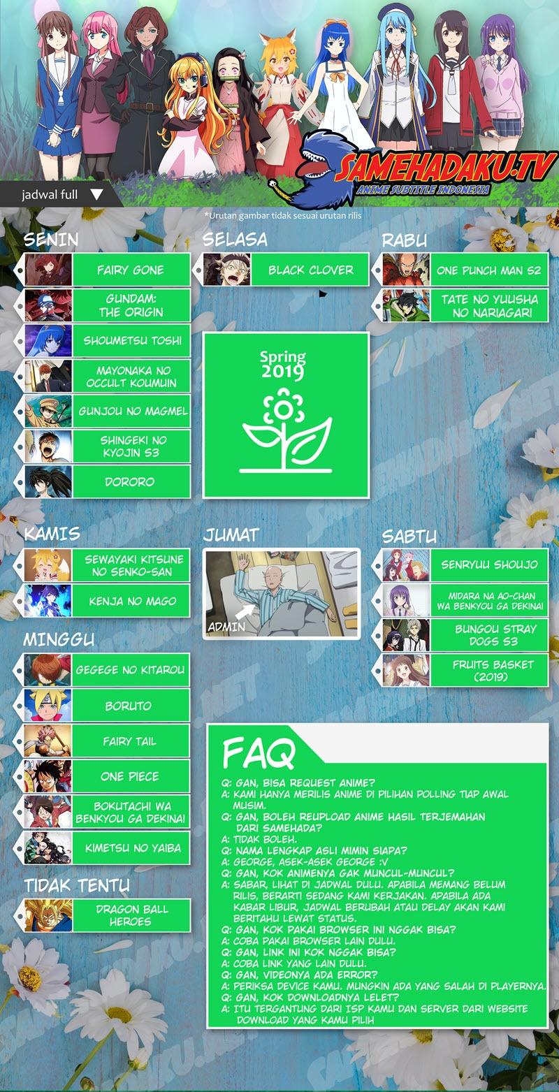 Daftar Anime Subtitle Indonesia