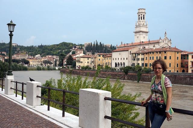 Paseo rio Adigio Verona