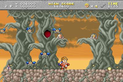 Legend of Hero Tonma - versión Arcade
