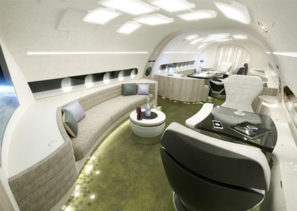 Airbus ACJ320neo melody interior