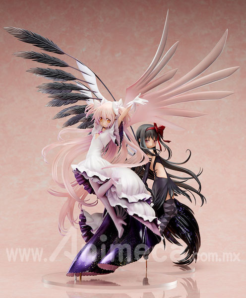 "Figura Devil Homura Limited Edition"" y ""Figura Ultimate Madoka Edición Limitada"" de ""The Beginning Story/The Everlasting Puella Magi Madoka Magica the Movie"""