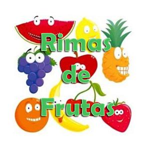 rimas de las frutas