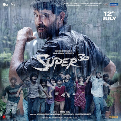 Hrithik Roshan Super 30 Trailer is out