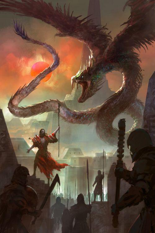 Felix Ortiz artstation arte ilustrações fantasia sombria capas livros