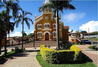 Conhecendo a cidade de Cascalho Rico - MG