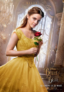 Beauty and the Beast (2017) International Poster Emma Watson