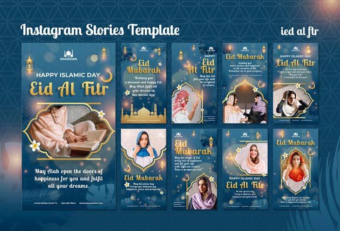 Eid Al Fitr Social Media Stories