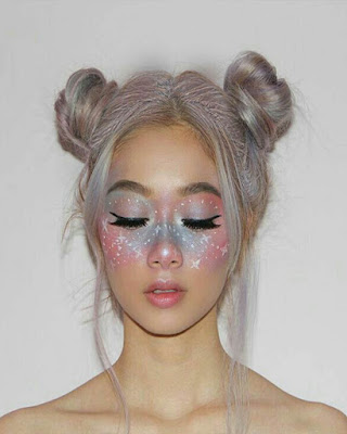 maquillaje cosmico tumblr