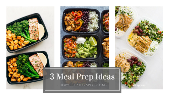 Jordys beauty spot 3 meal prep ideas from pinterest healthy 3 meal prep ideas from pinterest healthy eating tips forumfinder Gallery