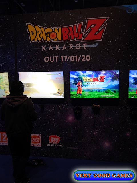 Photo report from the gaming event EGX 2019 in London - the game Dragon Ball Z: Kakarot
