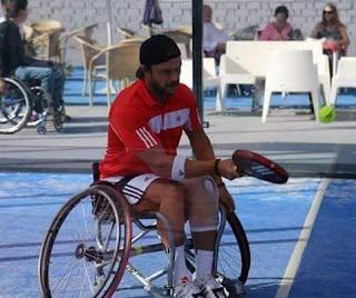 padel silla, tenis en silla, tenis adaptado, padel adaptado