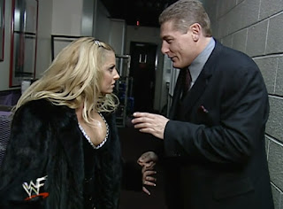 WWE / WWF No Way Out 2001 - William Regal confronts Trish Stratus backstage