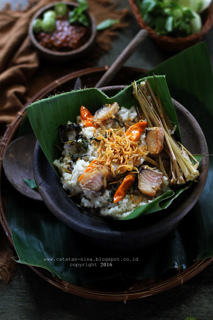 NASI LIWET ALA SUNDA VERSI MAGIC COM