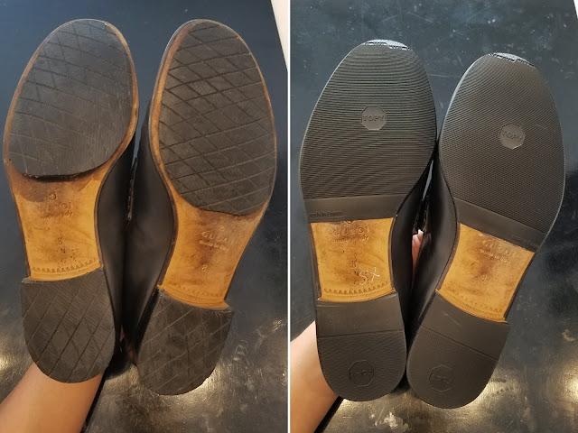 Dán đế giày ở đâu uy tín ? Dịch vụ dán đế giày ở HCM.