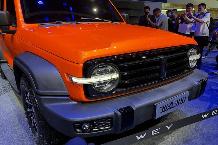 Xe Trung Quốc - WEY Tank 300 'phong cách' Ford Bronco 2021