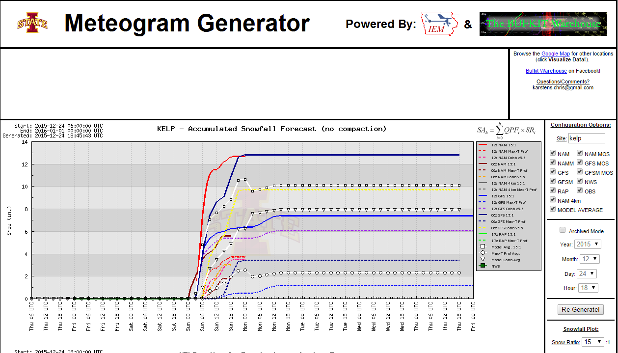 Potential Still There For A Historic Winter Storm/Blizzard