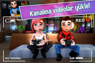 Youtubers Life Gaming Channel V1.5.9 MOD APK – PARA HİLELİ