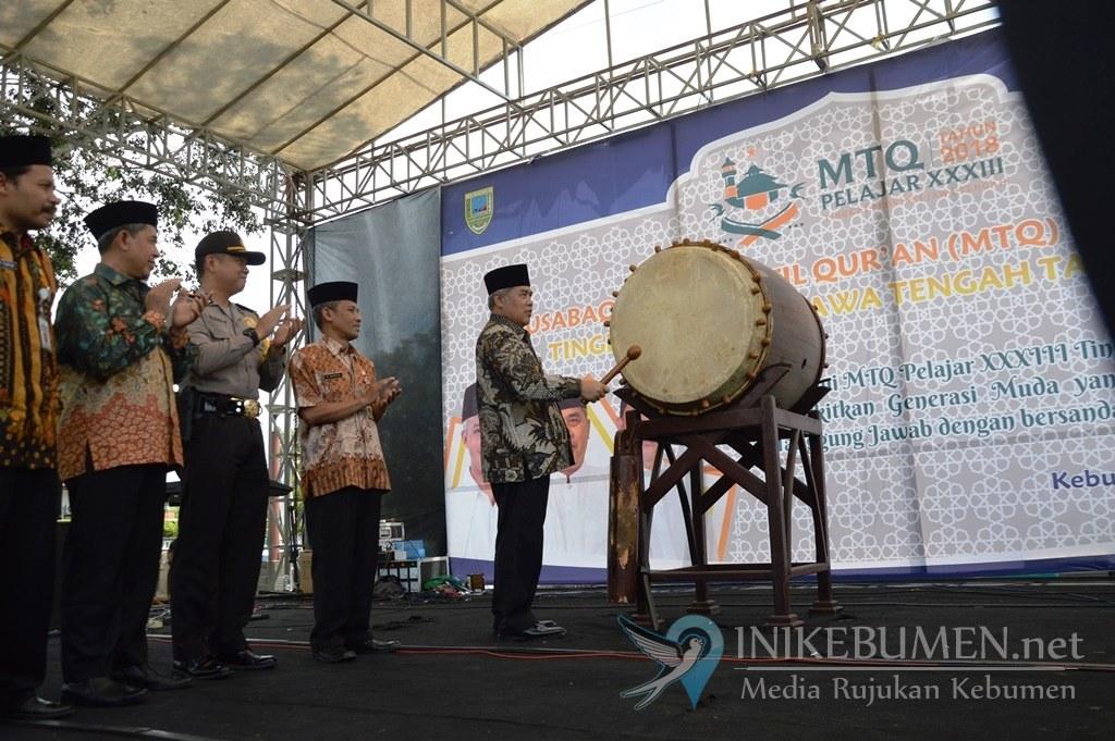 Wakil Bupati Kebumen Tutup MTQ Pelajar ke-33 Jawa Tengah
