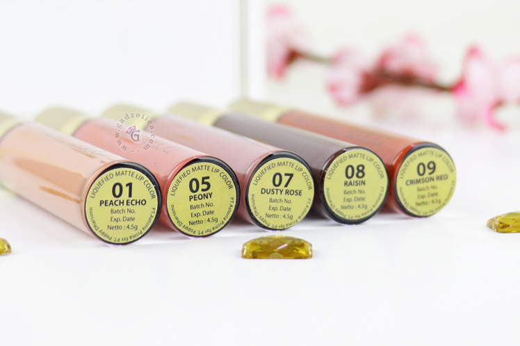 Poppy Dharsono Liquefied Matte Lip Color