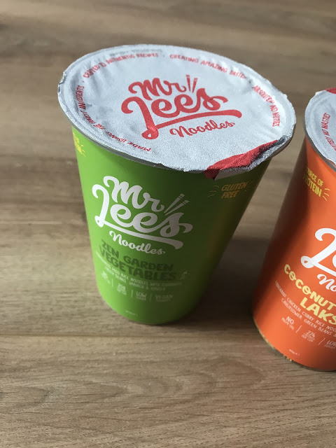Mr Lee's Noodles Zen Garden Vegetables - £2.50 Degustabox November 2019