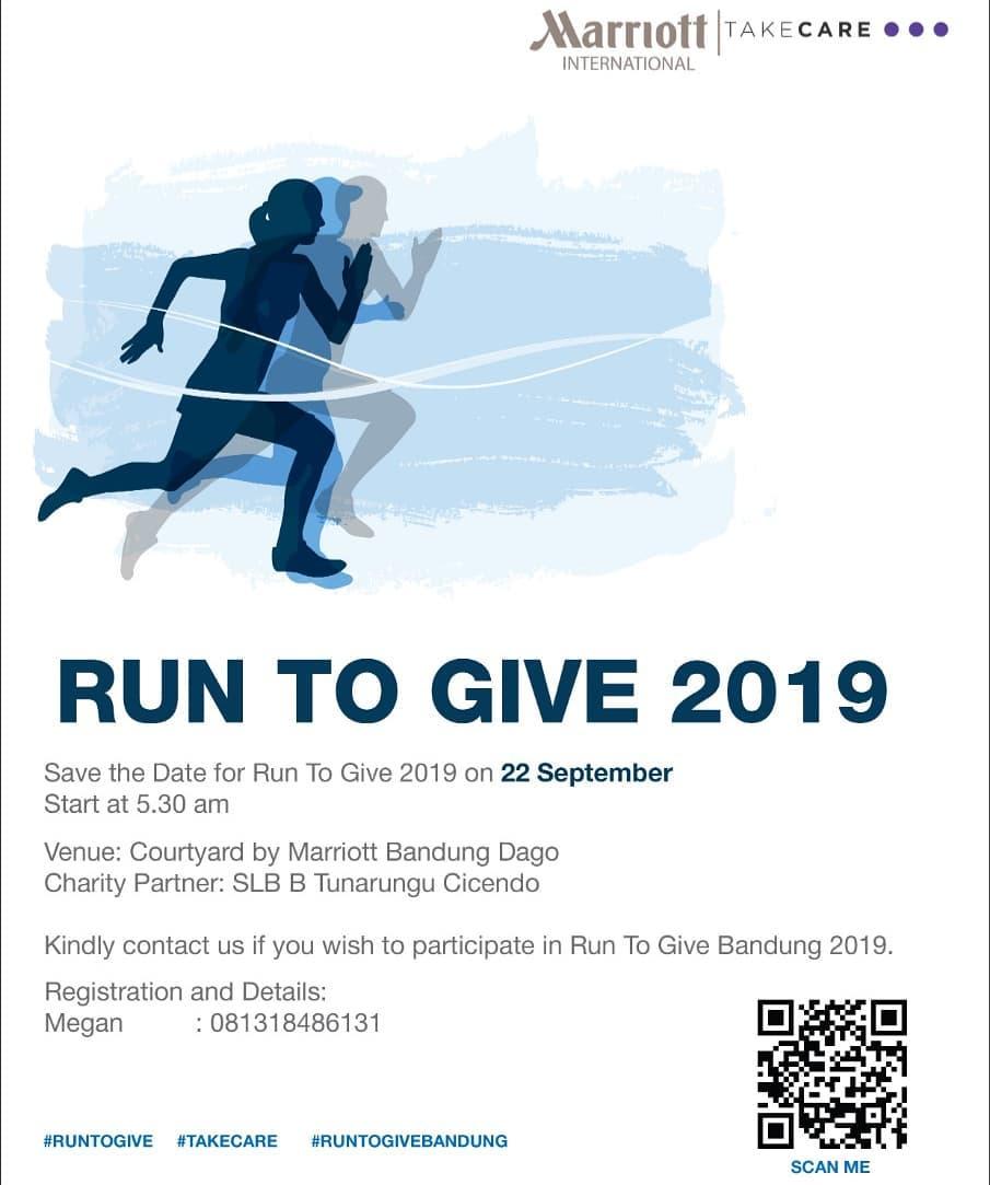 Run To Give - Bandung • 2019