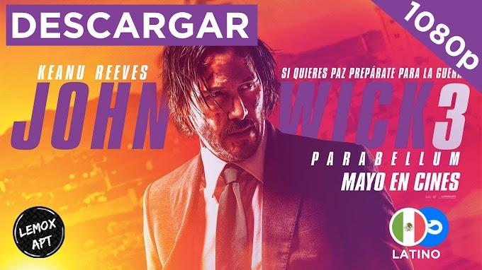 ✅ | DESCARGAR JOHN WICK 3 - PARABELLUM (2020) | LATINO |  720p