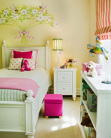 10 cute and lovely bedroom ideas for little girls 2