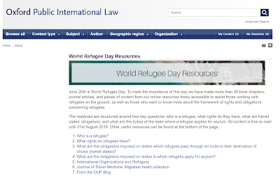 Library Boy: World Refugee Day Resources from Oxford Public
