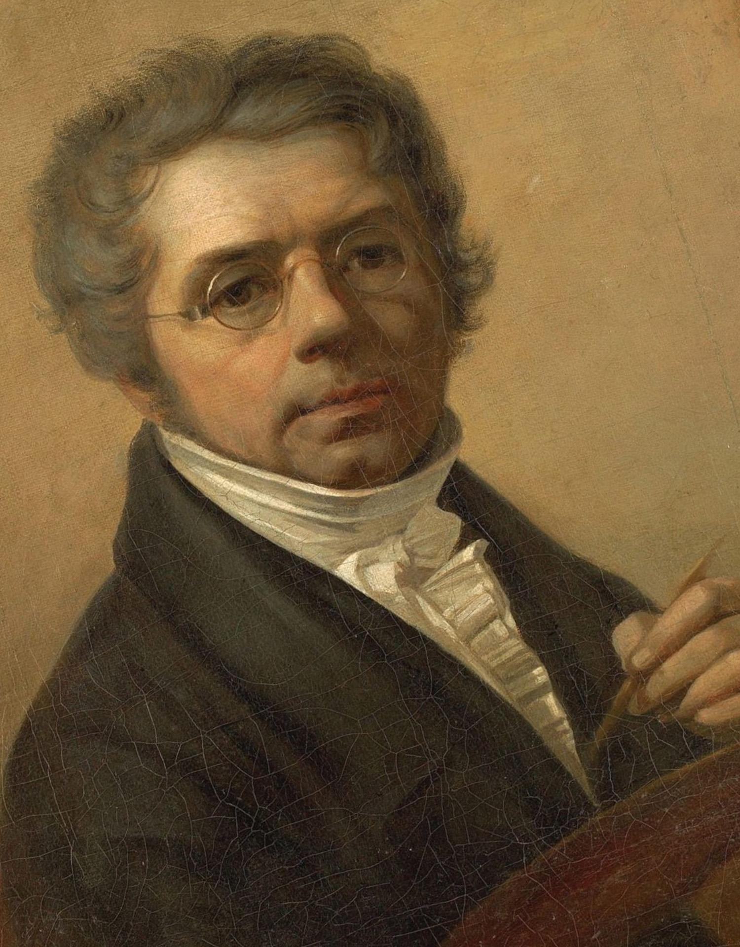 Алексей Венецианов портрет