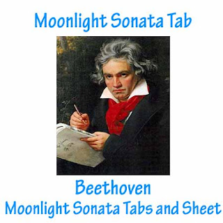 Moonlight Sonata Tab - Beethoven Free Guitar Tabs And Sheet
