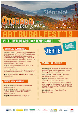 VI Art Rural Fest, Jerte