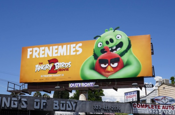 The Angry Birds Movie 2 billboard
