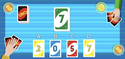 Figure: What about now? Which card would you play?