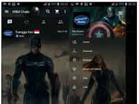 BBM MOD Captain America Theme V3.0.0.18 APK