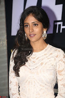 Chandini Chowdary in white Tight dress at Shamanthakamani pre release function ~  Exclusive 057.JPG