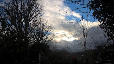 Clouds Clearing On A January Afternoon