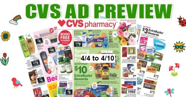 CVS Ad Scan 4-4 to 4-10