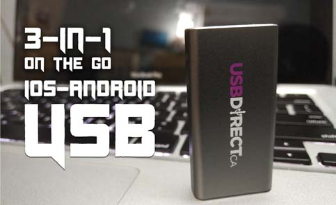 3-in-1 On the Go iOS USB: Review