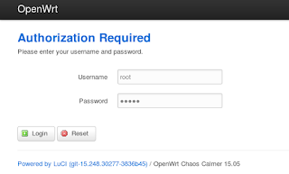 OpenWRT Authorization
