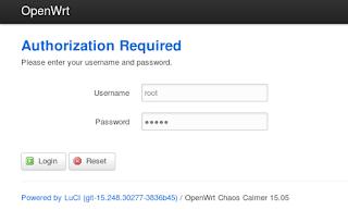 OpenWRT Authorization