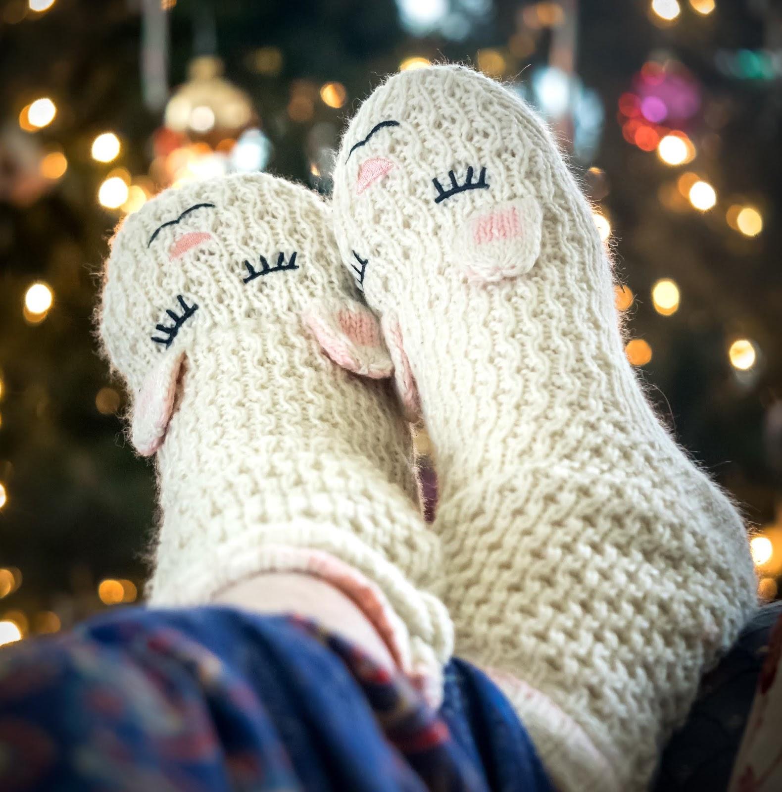 Merry Christmas Socks DP